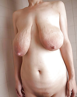 Saggy tits Hanging breasts